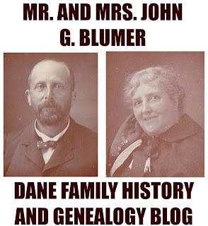 John G Blumer and Edyth Walford Blumer