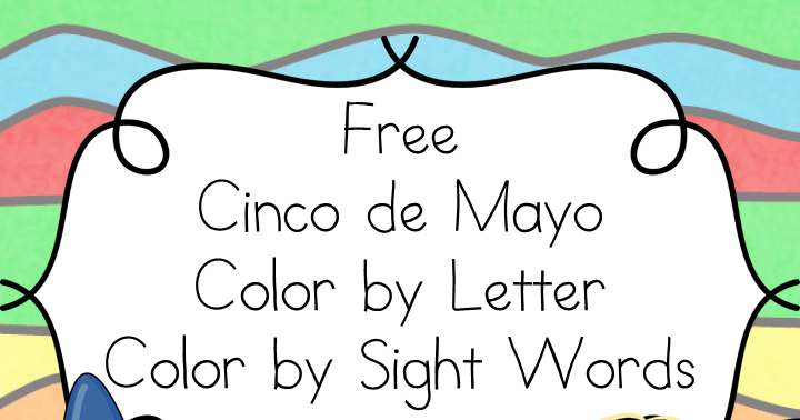 Classroom Freebies Too Cinco De Mayo Coloring Pages