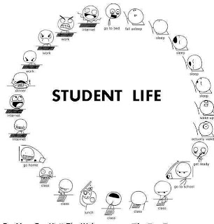 Students live