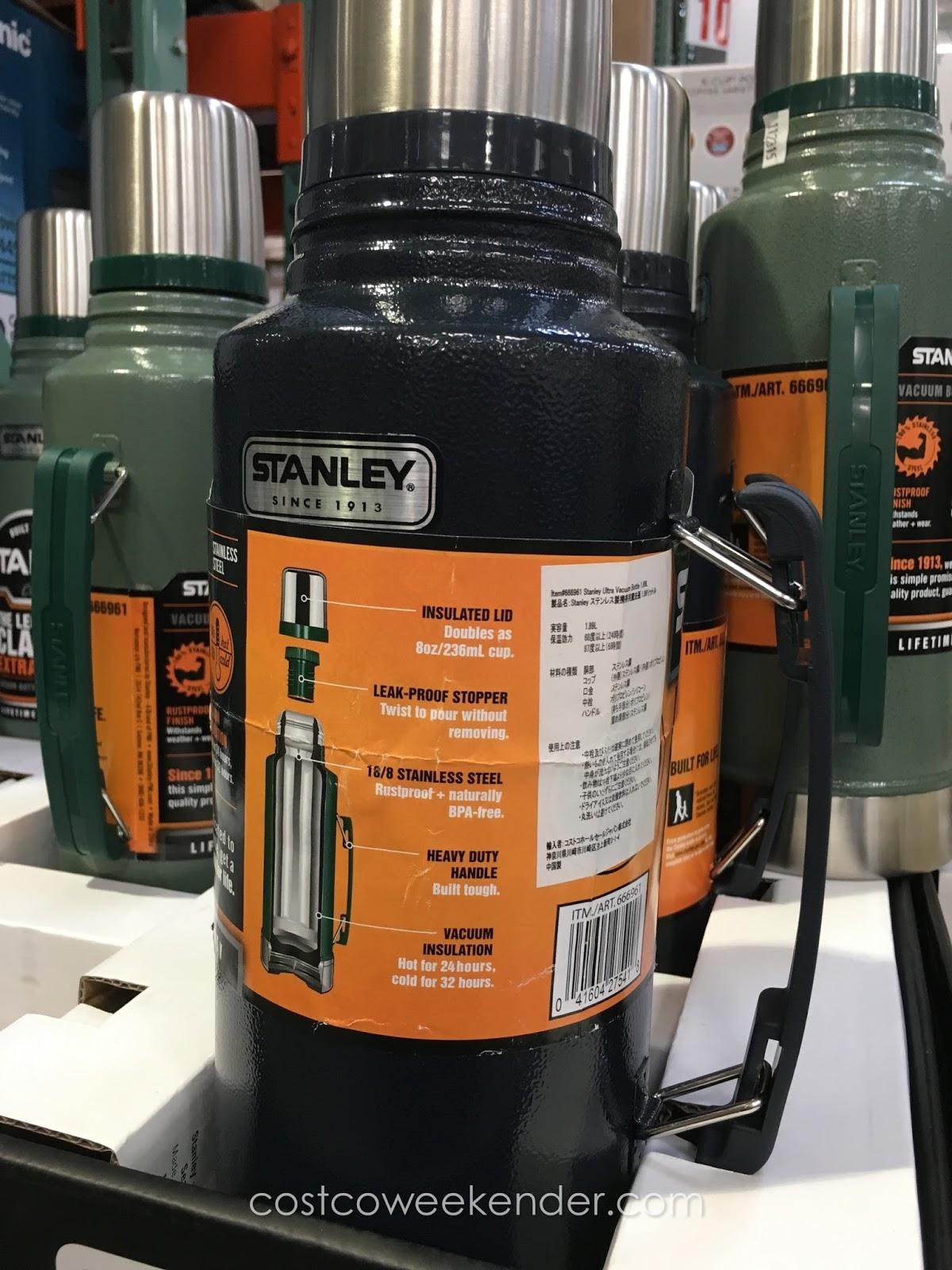 Stanley Classic 2qt Vacuum Bottle | Costco Weekender