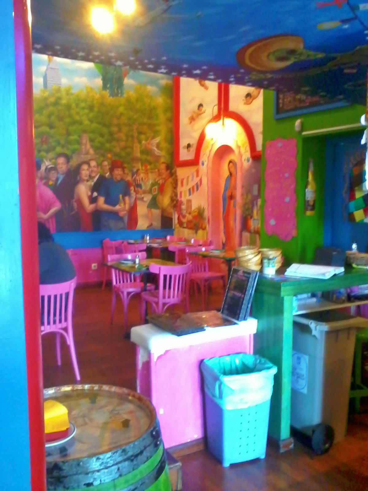 la mordida madrid terraza restaurante mejicano mexicano