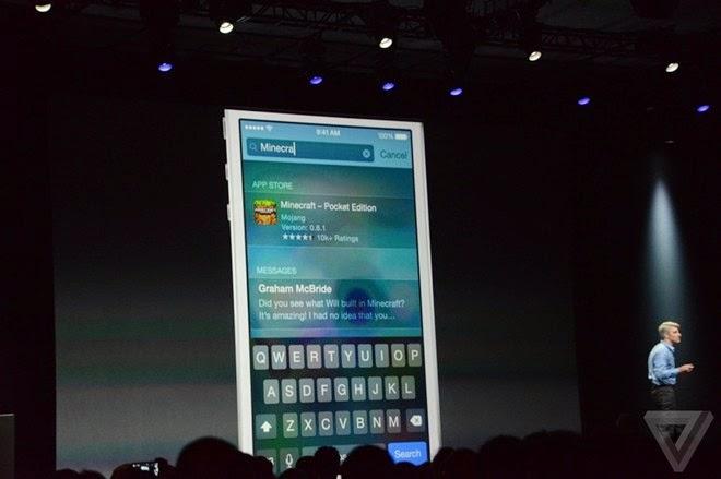 Apple chính thức giới thiệu về hệ điều hành iOS 8