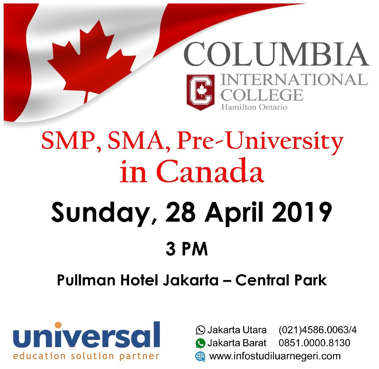 SMP, SMA, pre-Univ in Canada