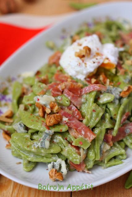 przepis na makaron z gorgonzolą