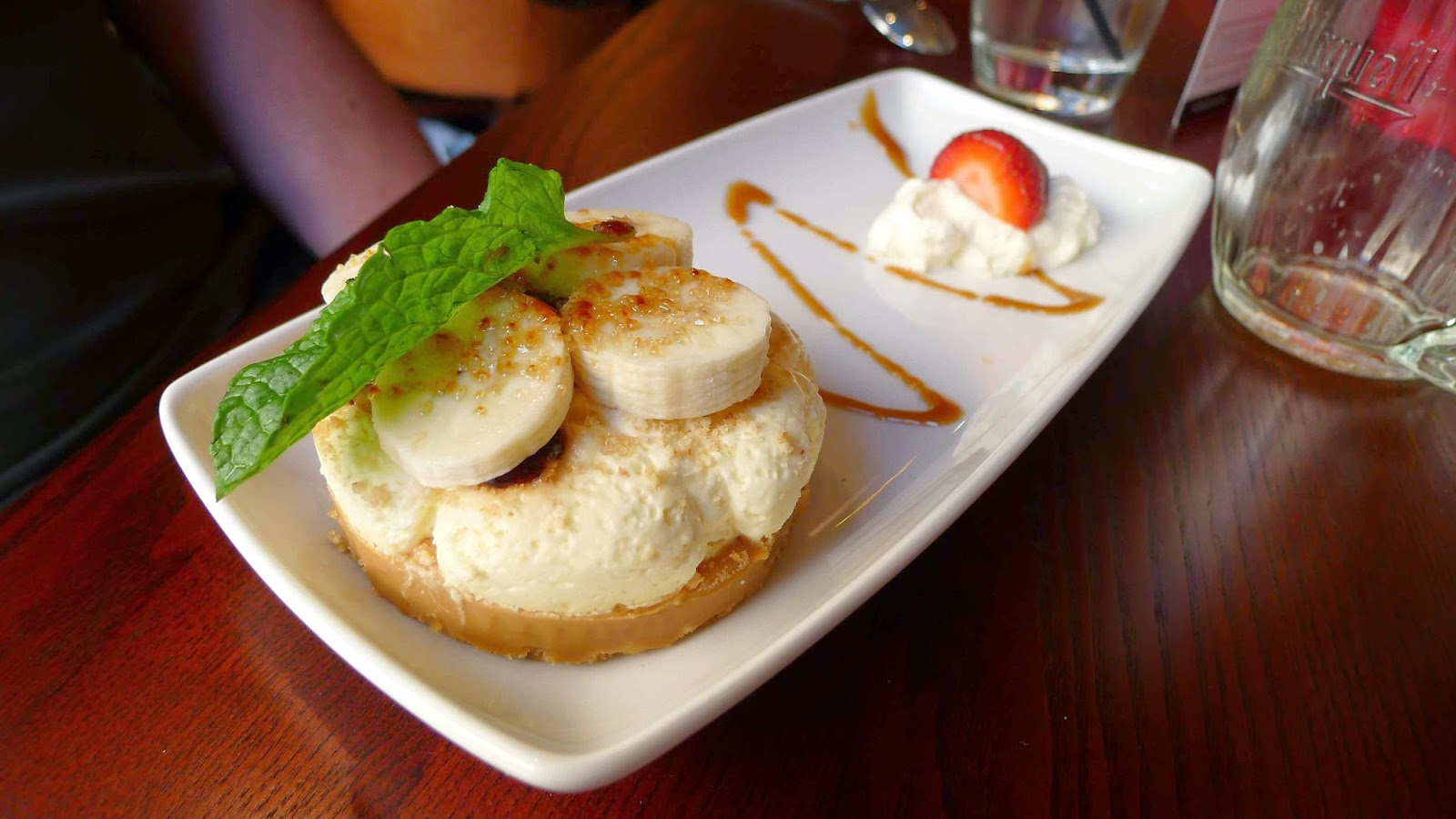 Gourmetgorro Miller Carter The Hayes Cardiff Steakhouse Review Mille Shopia Top Creme A Commendably Crisp Biscuit Base Was Topped With Thick And Slightly Chewy Caramel Whipped Cream Fresh Slices Of Banana