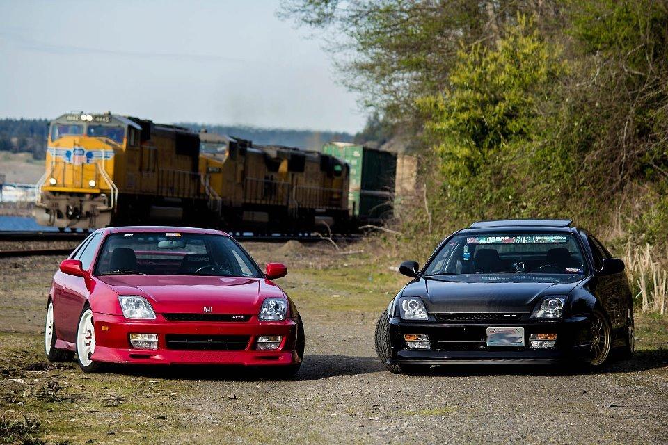 Honda Prelude 5, V, piąta generacja, tuning, japoński sportowy samochód, coupe, JDM, zdjęcia, 日本車, チューニングカー, スポーツカー, ホンダ