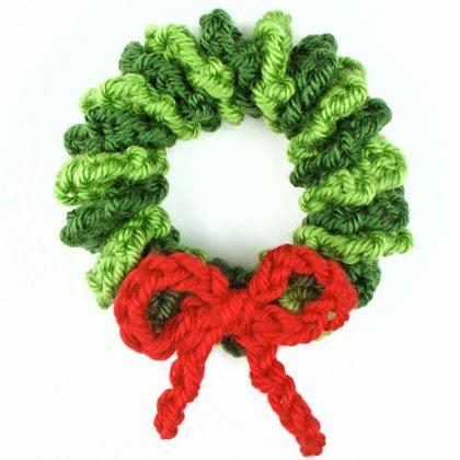 How To Make Mini Wreath Ornament