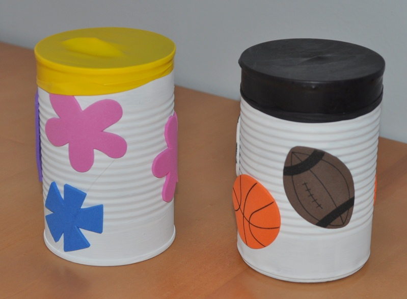 Homemade Kids Instrument Drums