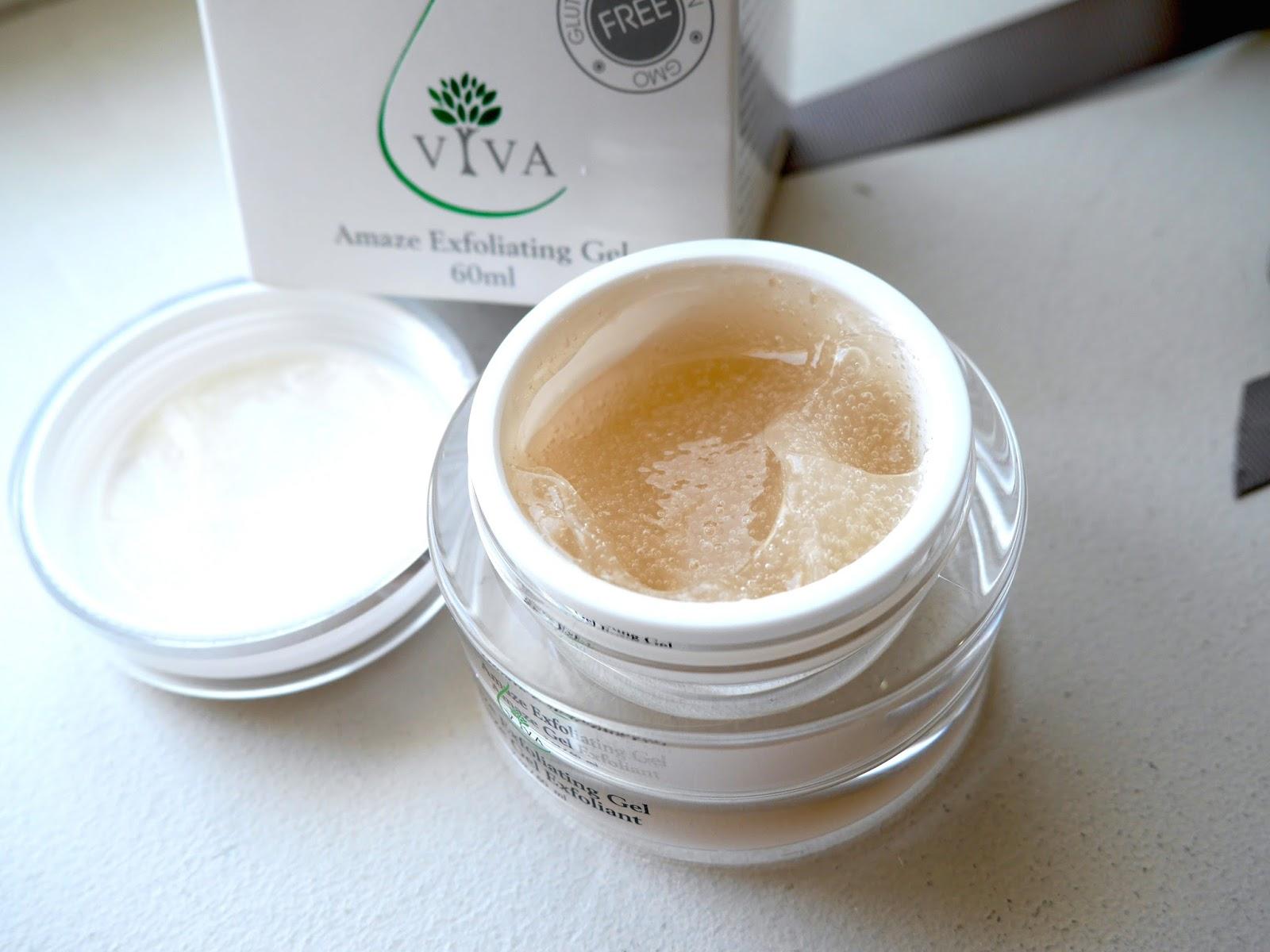 viva health skincare amaze exfoliating gel review