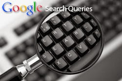 Google Webmaster Search Queries