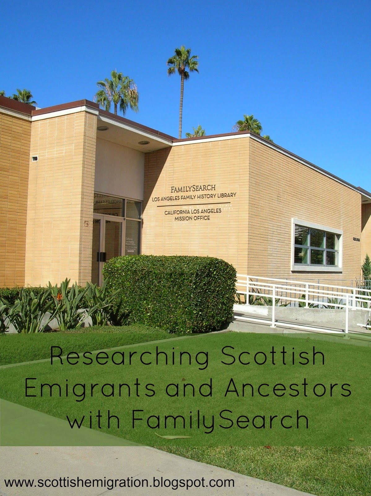 FamilySearch, Scotland, Emigrants, Ancestors, Vital Records, Wiki, Research