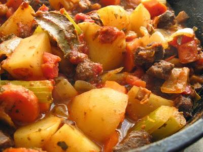 Vegetarian Beef TVP Stew