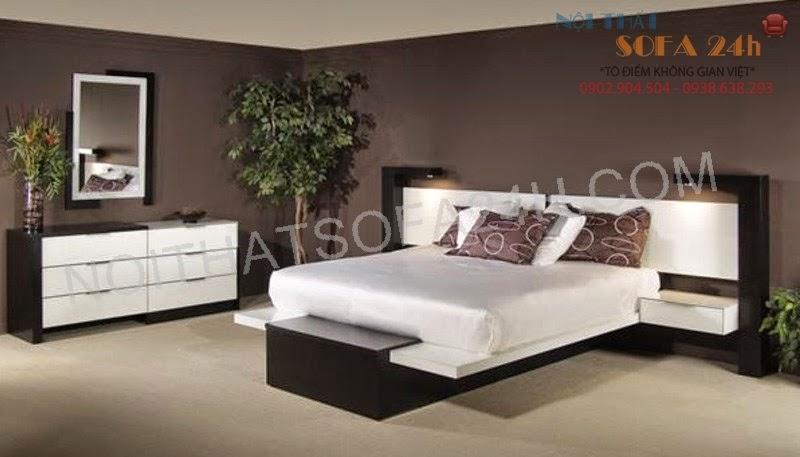Giường ngủ GN080