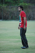 Telugu Film Personalities Practicing Cricket for CCL-thumbnail-7