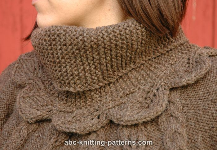Knitting Stitches Sk2p : ??????????????: ?????? ??????? ?????? ?? ????? /leafy cowl knitting pattern