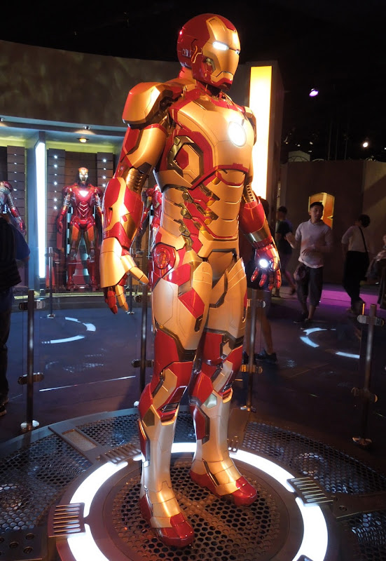 Iron Man 3 movie suit DIsneyland
