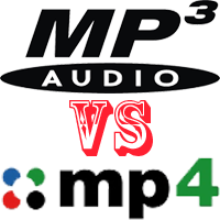 what is difference between mp3 and mp4