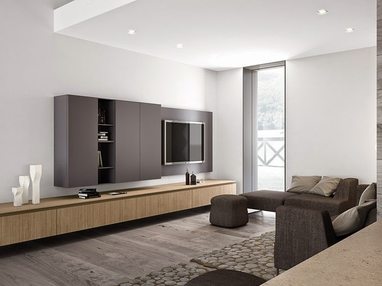Stylish minimalist home design and decor minimalist homes for Living room decor 2015