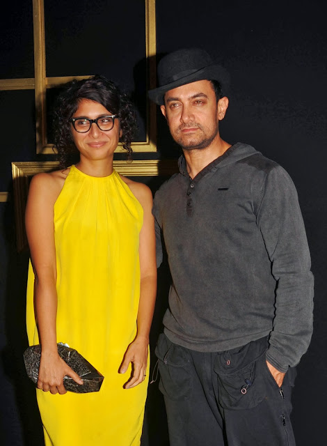 Aamir Khan, Bollywood, Kiran Rao, Showbiz, Entertainment, Movies, Film, Hindi, Shooting, Actor, India, News, Filmmaker, Wife,