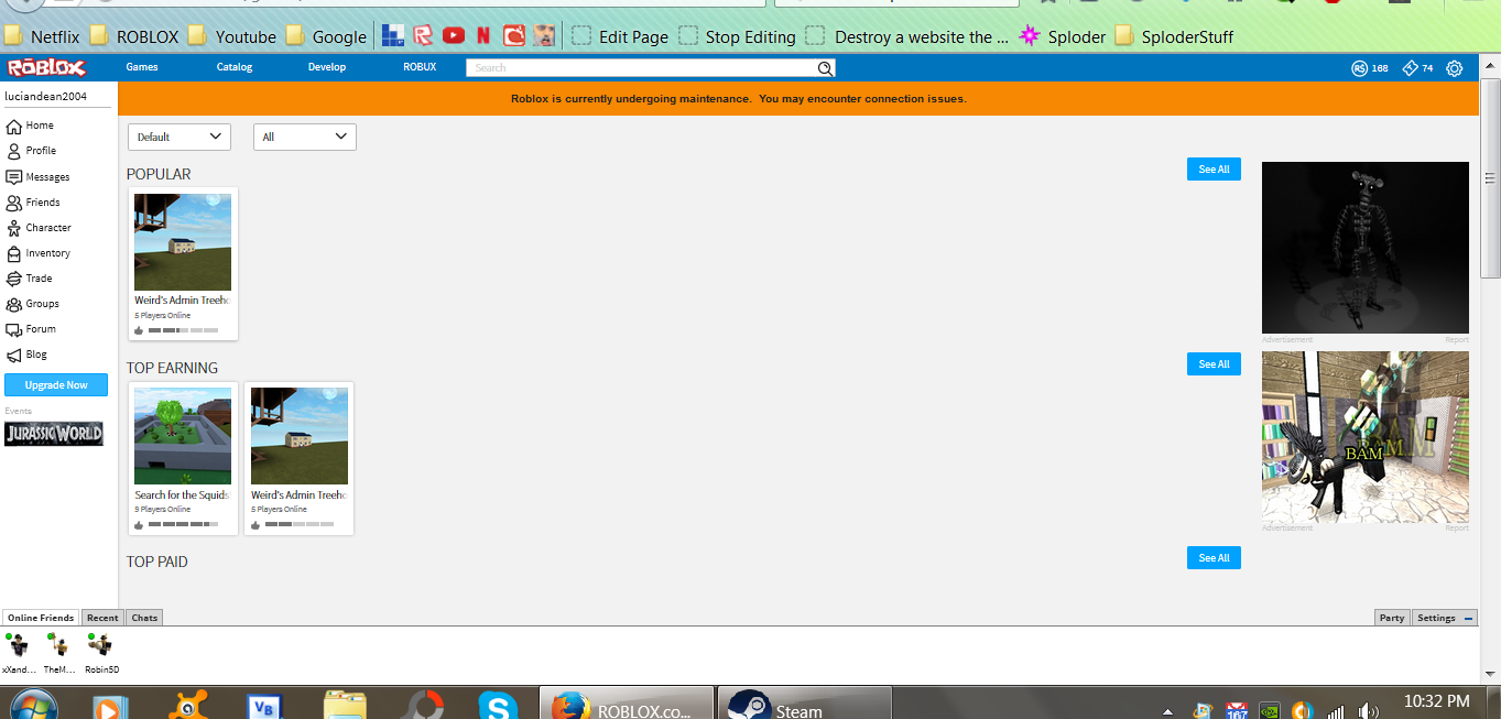 roblox shutting down