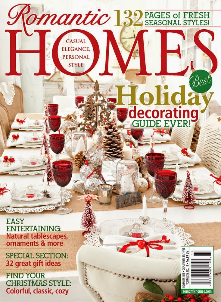 2013 Romantic Homes Holiday Magazine