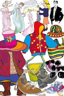векторный клипарт одежда