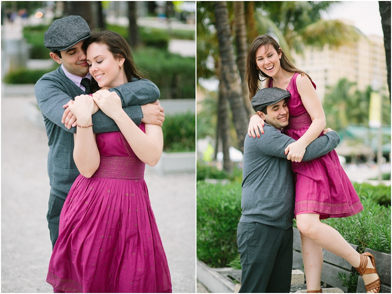 west palm beach green market engagement photos