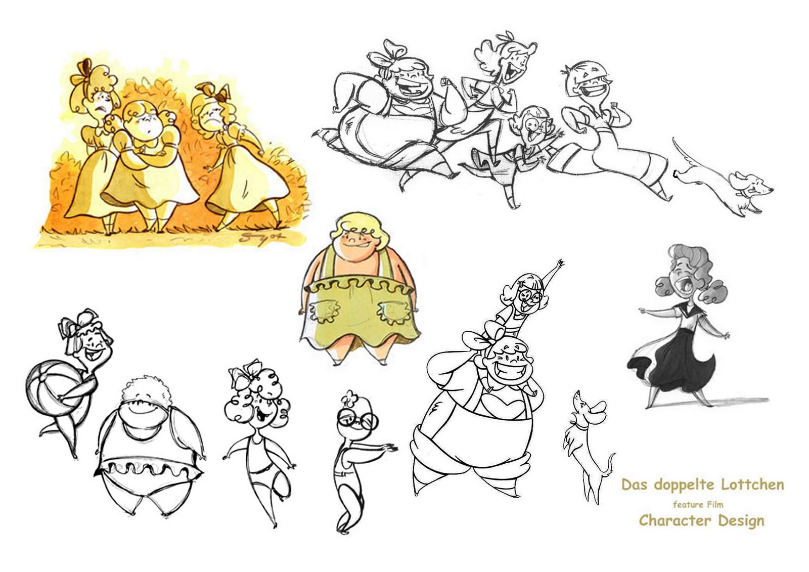 Character Design Portfolio Example : Shane cooney portfolio samples