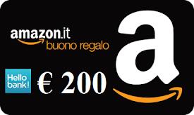 Con HELLO BANK GRATIS un BUONO AMAZON di 200 euro!