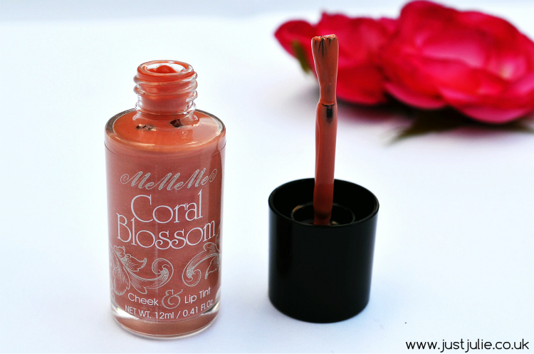MeMeMe Cosmetics Coral Blossom Cheek & Lip Tint