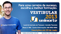 UNINORTE REALIZA VESTIBULAR EM TARAUAC