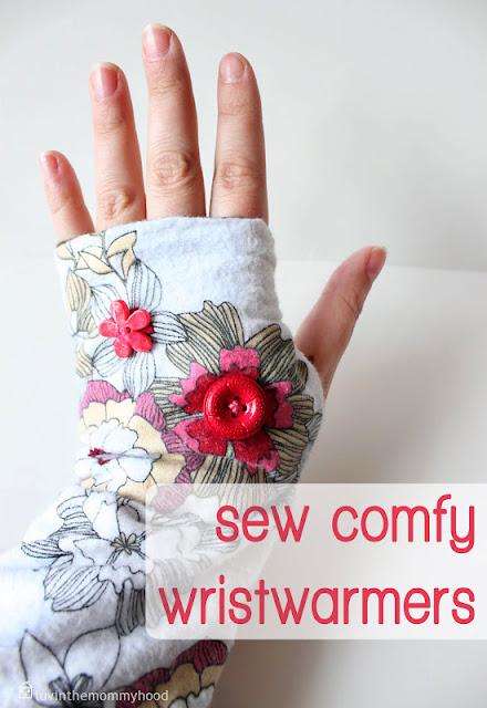 fingerless gloves dIY