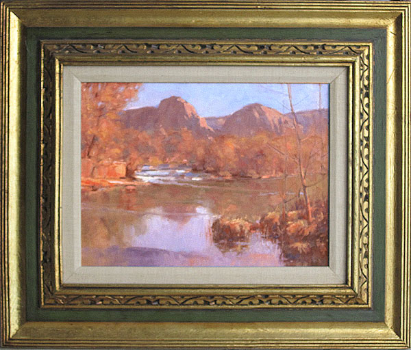 A Plein Air Painters Blog Michael Chesley Johnson About Framing