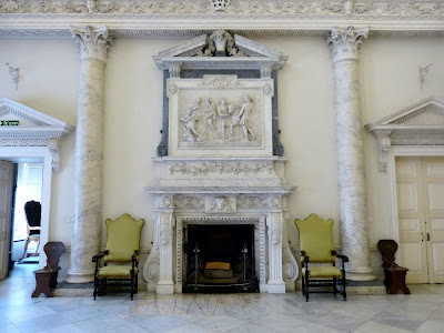 The Marble Hall, Clandon Park (July 2014) © Andrew Knowles