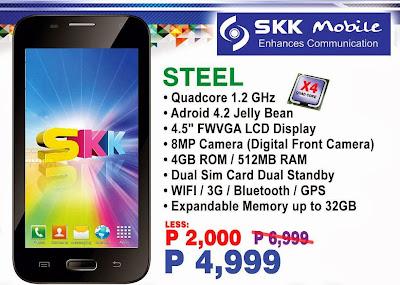 SKK Mobile Steel Specs