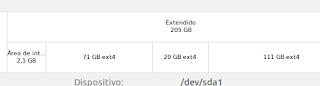 ¿Cómo saber en que partición está instalado Ubuntu?