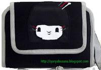 Tas Raflesia WHPO Black Kokeshi