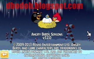 Free Download Angry Birds Seasons 3.2.0 2013 Full Version (PC) + Patch