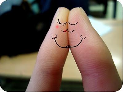 Foto Cinta Sepasang Jari