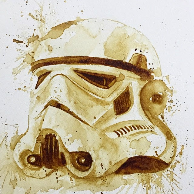09-Stormtrooper-Star-Wars-Maria-A-Aristidou-Pop-Culture-Painted-with-Coffee-www-designstack-co