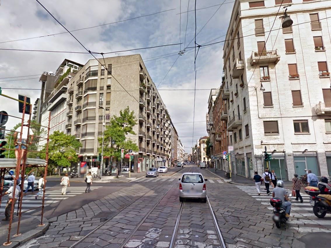 Urbanfile milano zona porta romana la scomparsa porta for Corso di porta genova milano