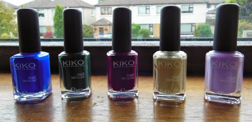Meus Esmaltes da Kiko Make Up