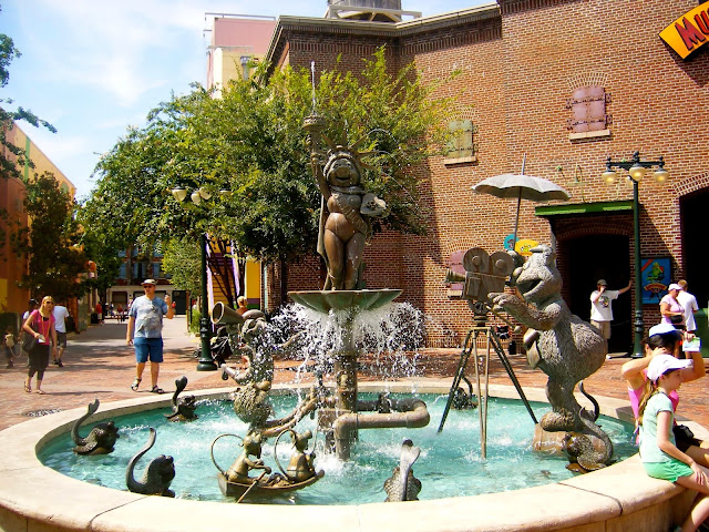 Muppets fountain - Hollywood Studios, Disney World, Florida