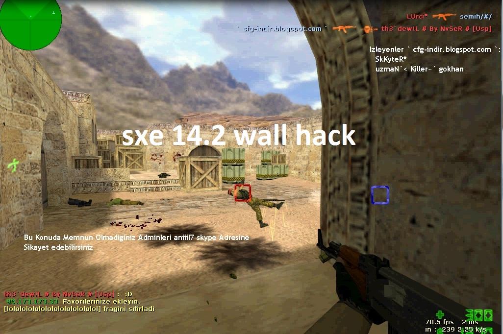 counter strike cfg indir, sxe wall hack, cs 1.6 bot paketi