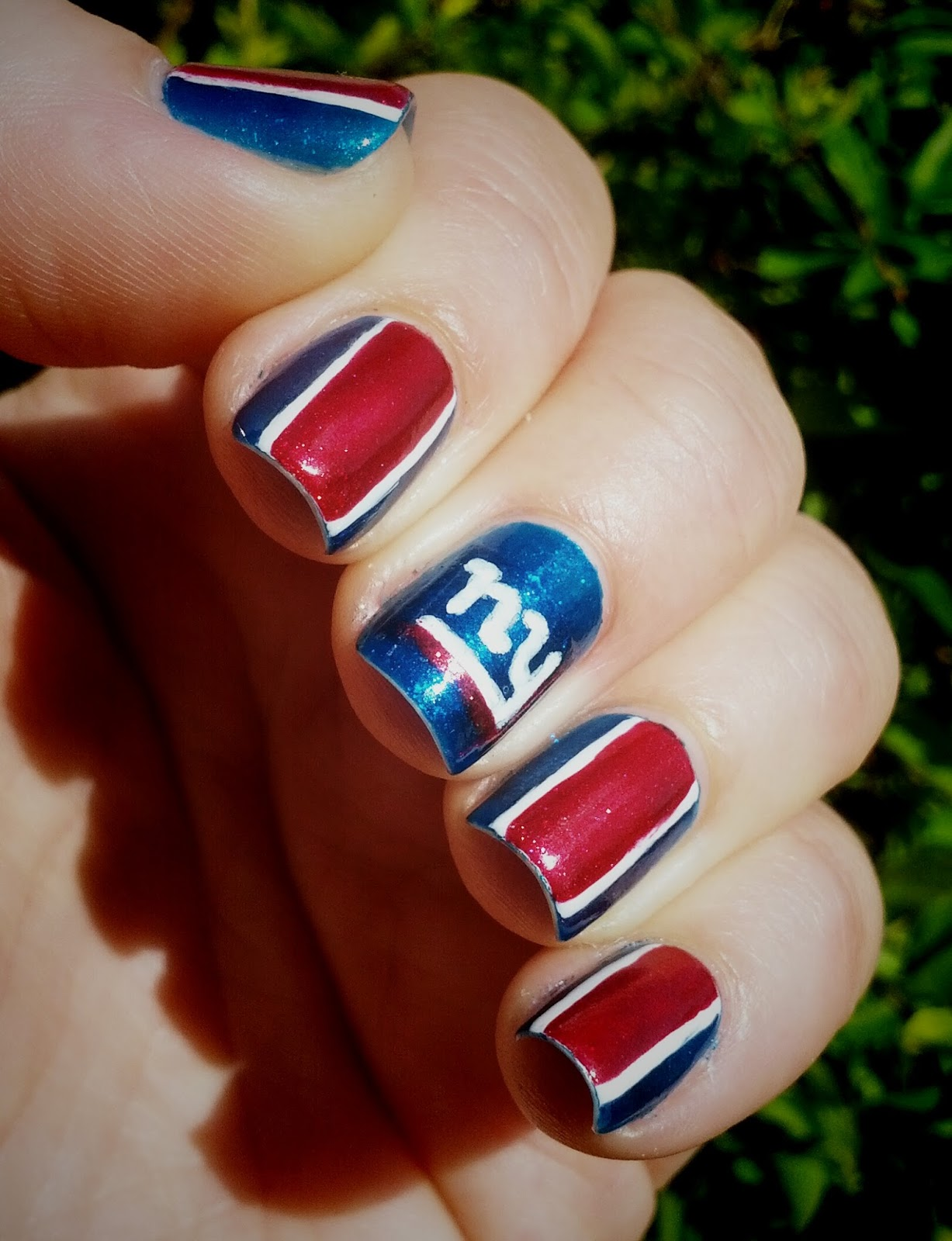 I Love The Giants As Well And Fully Support His Temporary Insanity On Sundays Which Is Why Did A Ny Manicure Last Week For Season Opening