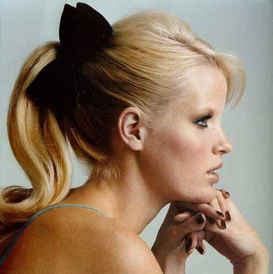 Peinado con coleta elegante peinados - Peinados pin up fotos ...