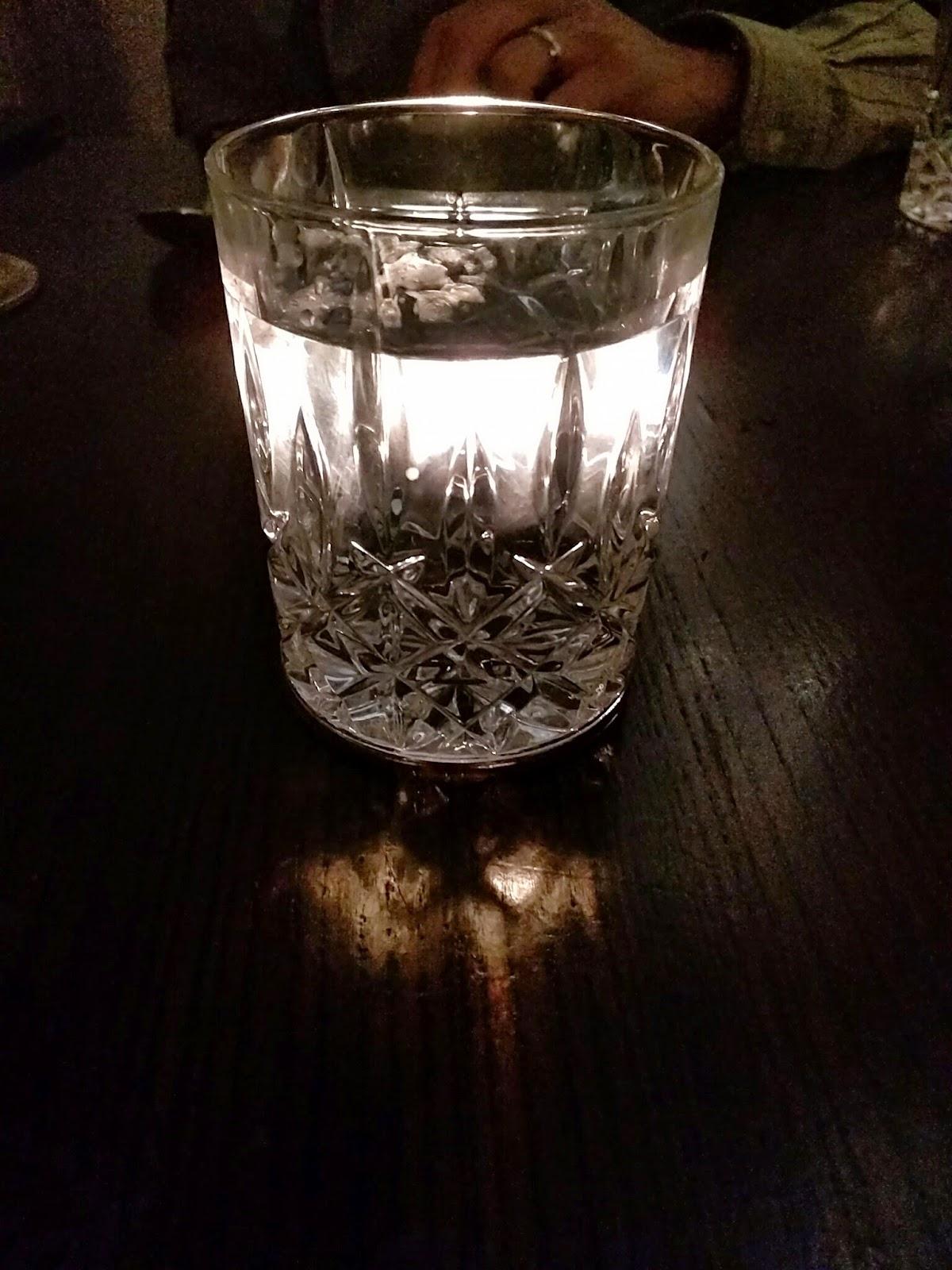 cut crystal glass