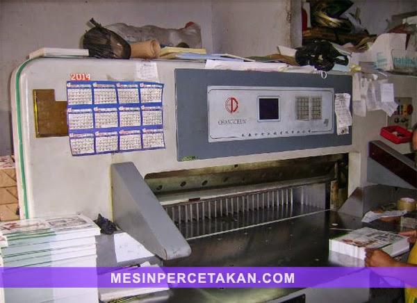 Changchun 115 mesin potong kertas bekas