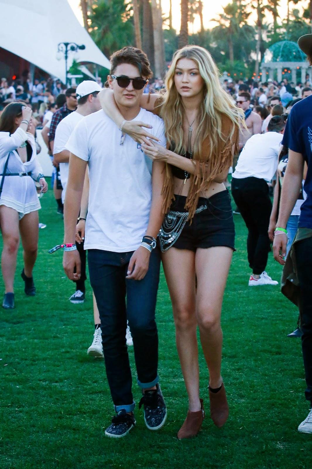 Gigi Hadid – Coachella Music Festival Day 2 in Indio