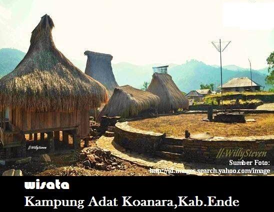 Kampung Adat Koanara Kab.Ende